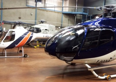 Décoration hélicoptères