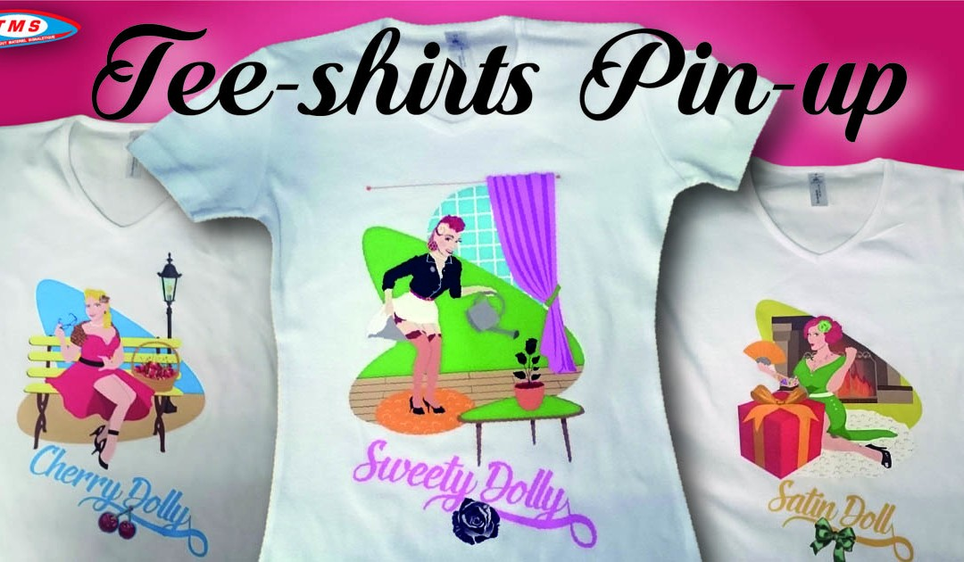 Tee-shirts Pin-Up