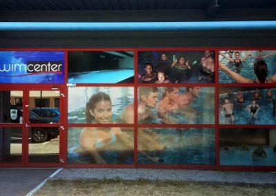 Nouvelle entrée pour Swimcenter Echirolles