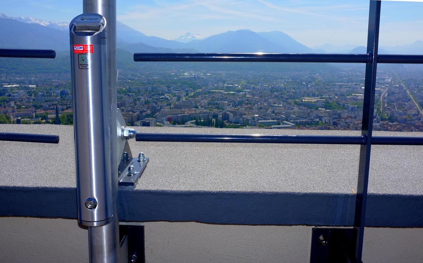 Cendriers TMS Grenoble Bastille