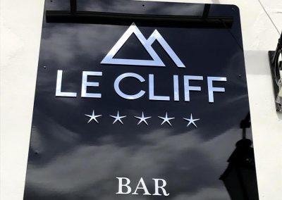 Enseigne Le Cliff