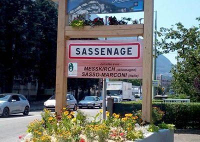 Entrée Sassenage