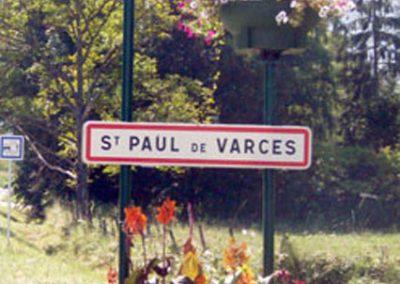 Entrée St Paul de Varces