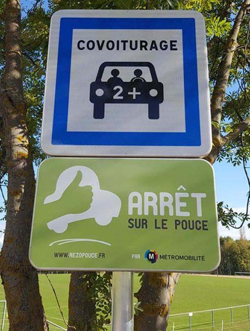 Nouveaux panneaux routiers
