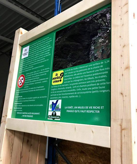 Panneaux bois pour forêt