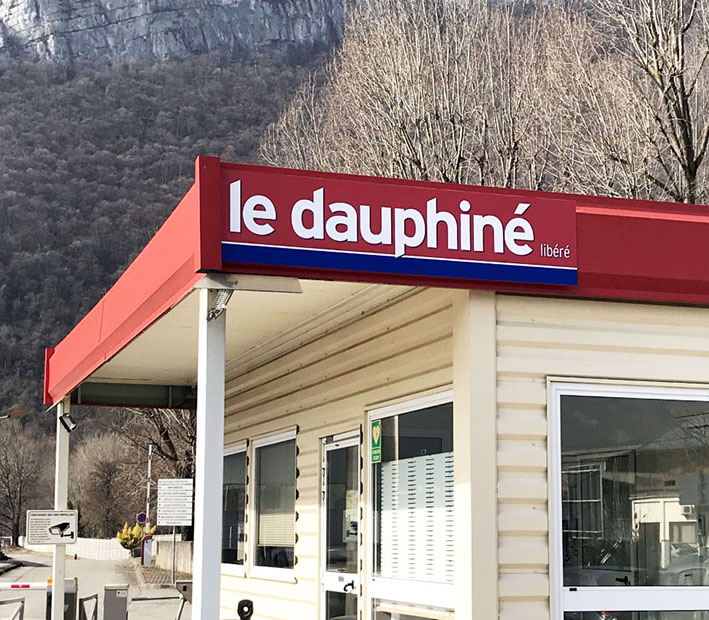 Enseigne Dauphiné