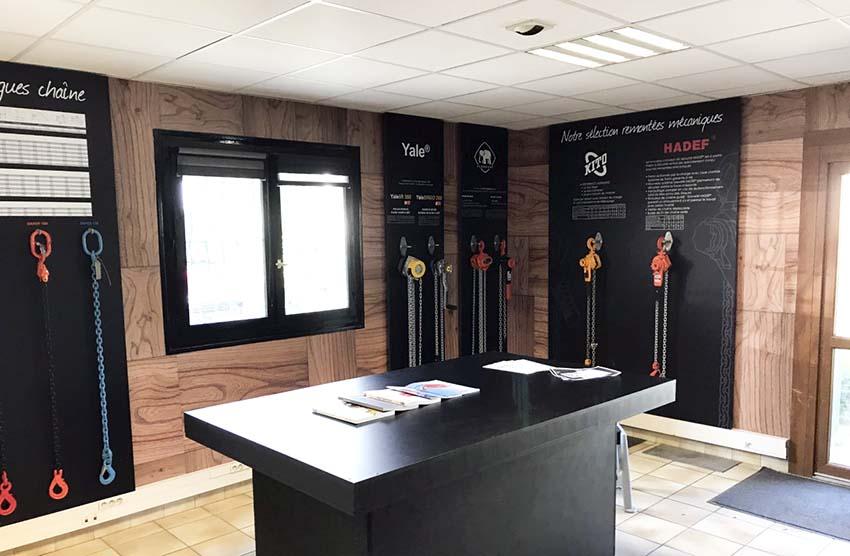 Décoration Showroom