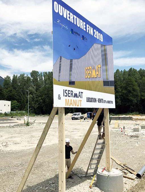Panneau de chantier GRAND FORMAT