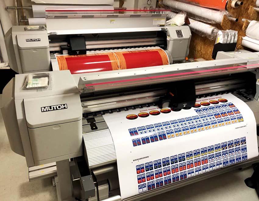 Imprimantes numériques grand format